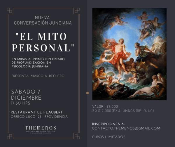 """""""El Mito Personal"""": en miras al Primer Diplomado de Profundización en Psicología Jungiana"""