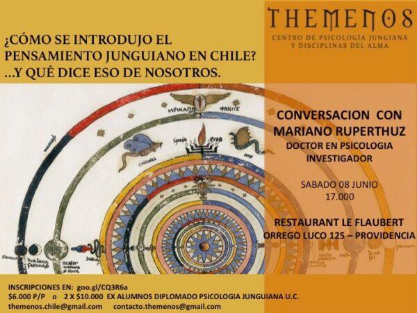 ¿Cómo se introdujo el pensamiento jungiano en Chile?