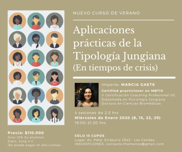 """""""Aplicaciones Prácticas de la Tipología Jungiana (en tiempos de crisis)"""""""