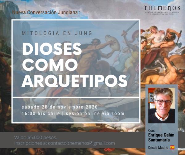 """""""Dioses como Arquetipos"""": Mitología en Jung"""